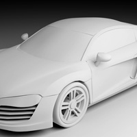 Modelling the Audi R8 - <i>Premium Series</i>