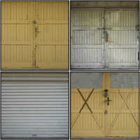 Freebie: 14 Garage Door Textures