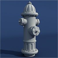 Model a Detailed High Poly Fire Hydrant