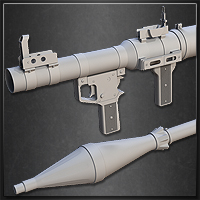 Model a High-Poly RPG Rocket Launcher - <i>3 Part Series</i>