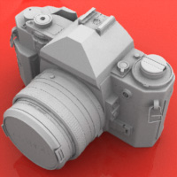 Model a High Poly Canon A1 Camera - <i>5 Part Series</i>