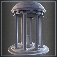 Model a High-Res Domed Fountain Structure