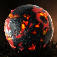 Create a Lava-Ball Scene