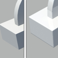 Quick Tip: Using Maya's Mia Roundcorners Shader