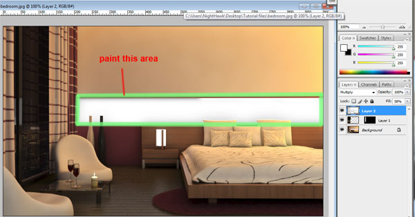 Modelling & Rendering an Interior Scene using 3Ds Max and Vray – Day
